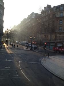 ...and Trafalgar Square